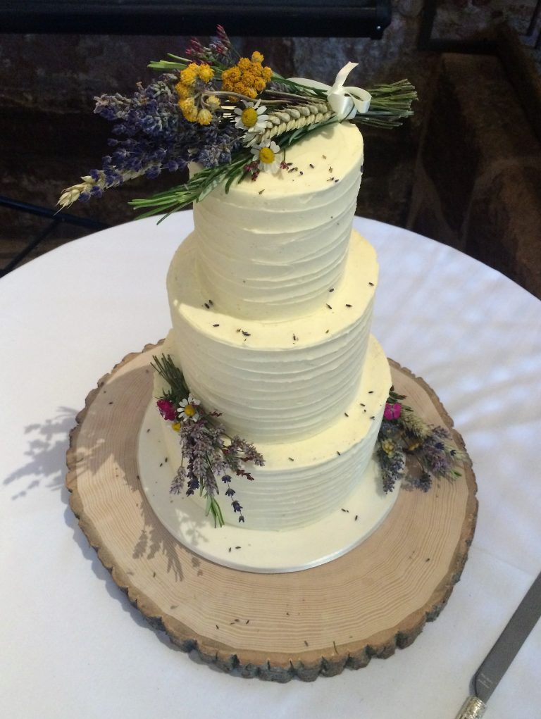 Textured Buttercream, Dried Lavender