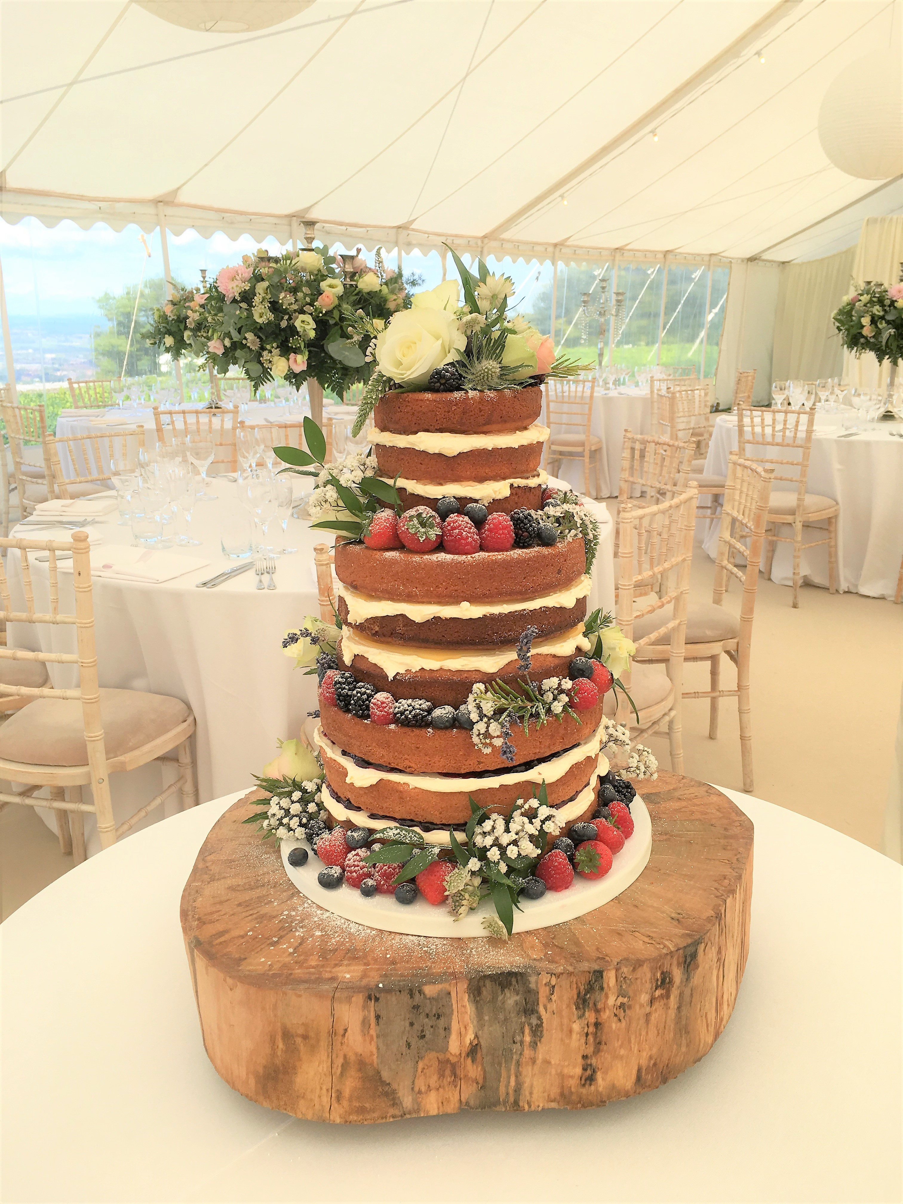 The Naked Cake Hannah Hickman Cakes