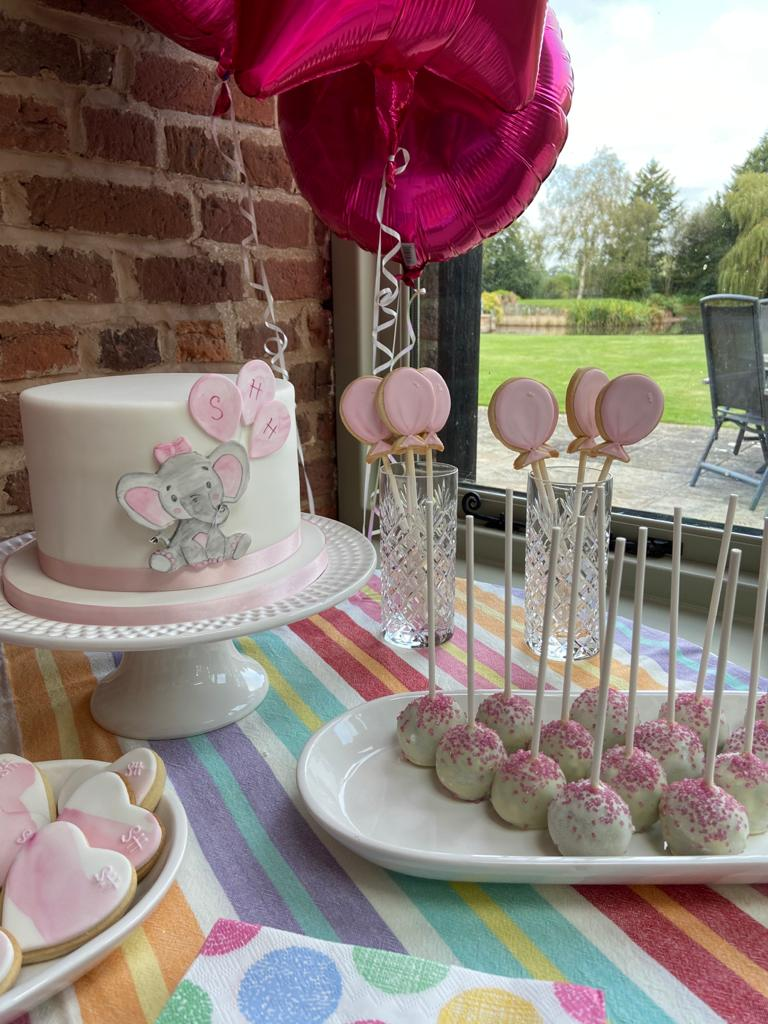 Christening Sweet Table